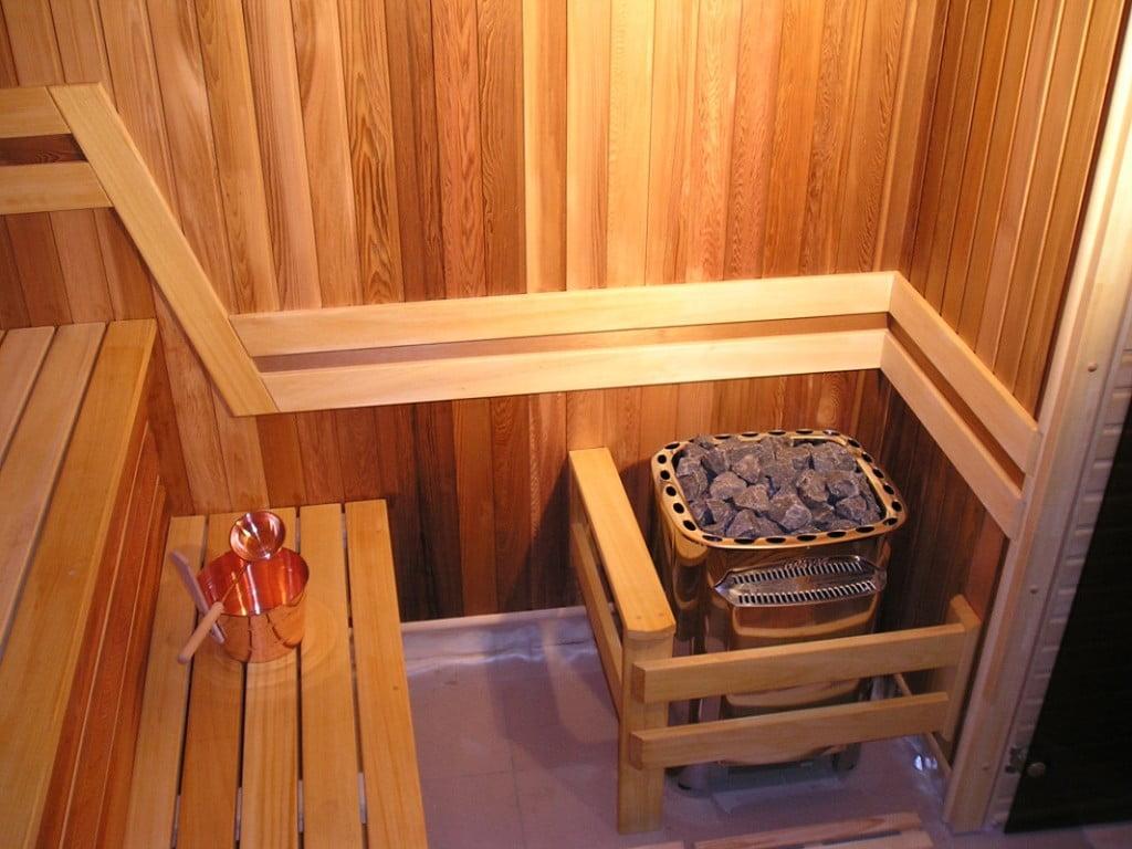 Сауны в деревянном доме своими руками 346