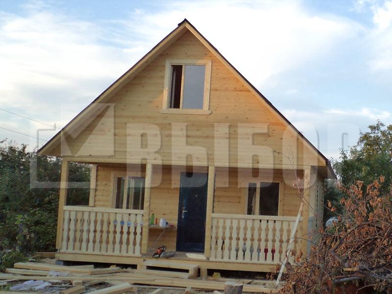 Дачные дома из бруса недорого пушкино